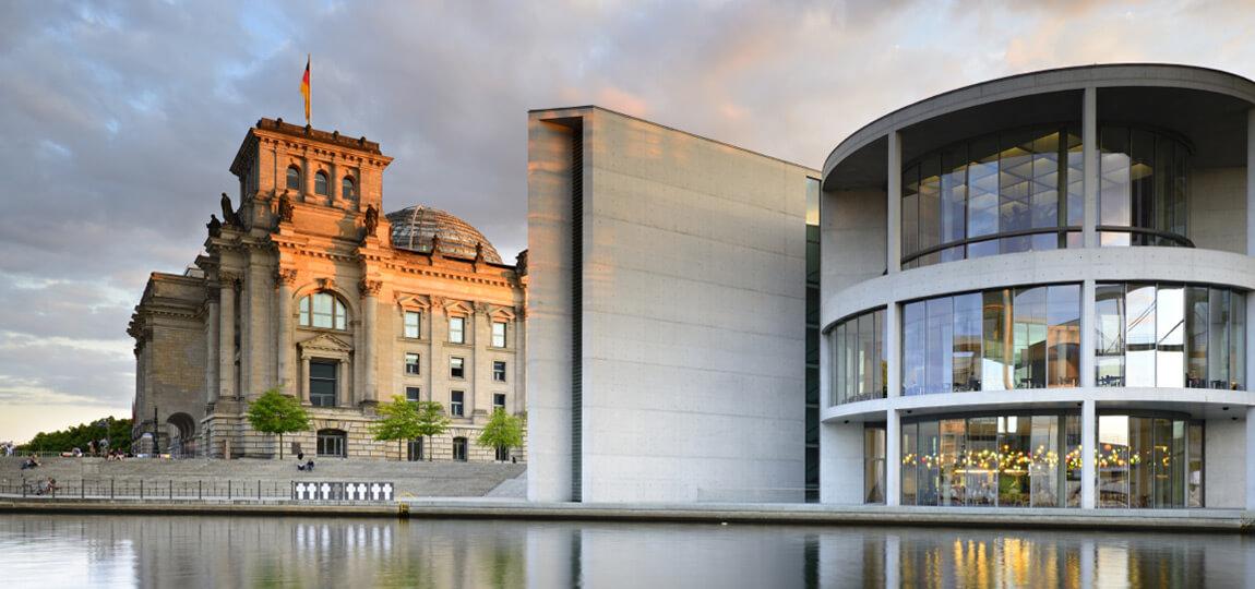 The German Parliament (Bundestag), Berlin