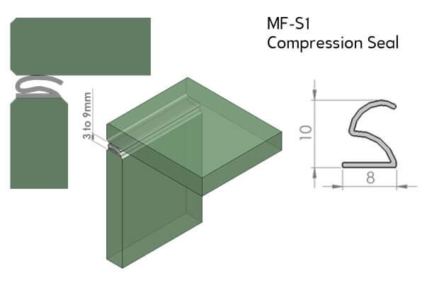 Manfred Frank Compression Seal for Doors