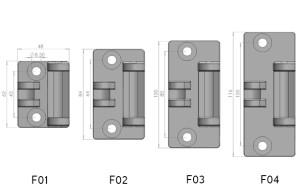 Micromaster hinge frame mount sizes