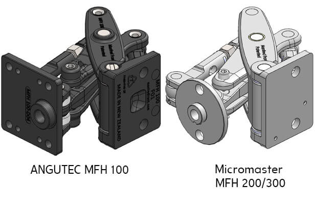 Door Mount D04 for MFH 100 & MFH 200 (Surface Screw Mounting)